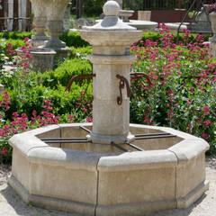 Jardines zen de estilo  por Atelier Alain BIDAL - Taille de pierre et Matériaux anciens en Provence , Mediterráneo Piedra