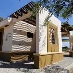by Arquitectura del Desierto 컨트리 벽돌