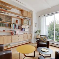 Salas / recibidores de estilo  por Kaizo Studio, Colonial