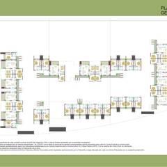 Multi-Family house by Arq. Marqués & Asoc. (EA - Estudio de Arquitectura), Minimalist