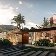 Villa oleh Rocarols Studio, Tropis