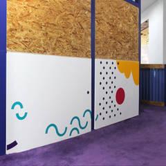 โรงเรียน โดย Sentido Arquitectura, โมเดิร์น ไม้ Wood effect