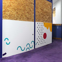 مدارس تنفيذ Sentido Arquitectura , حداثي خشب Wood effect