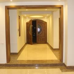 الممر الحديث، المدخل و الدرج من lifestyle_interiordesign حداثي
