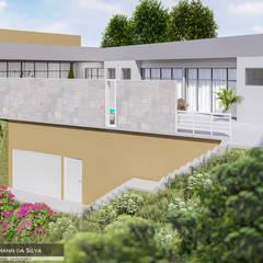 Terrace house by Luciana Hoffmann , Modern