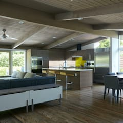 Brown and Kaufman Remodel by Klopf Architecture Modern Living Room by Klopf Architecture Modern