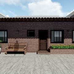 منازل صغيرة تنفيذ MILWARD ARQUITETURA , ريفي