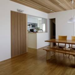 川口市A邸: スタジオ・スペース・クラフト一級建築士事務所が手掛けたダイニングです。,オリジナル