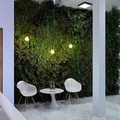 :  Офісні будівлі вiд Architoria 3D, Мінімалістичний Мармур
