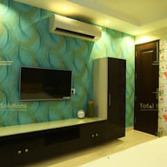 Small bedroom by Total Interiors Solutions Pvt. ltd. , Classic