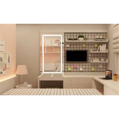 Dormitório AB por Maní Arquitetura Moderno MDF