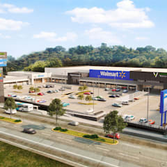 Shopping Centres by A5 corporativo, Modern