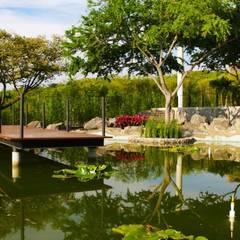 Garden Pond by PETRAM ARQUITECTURA, Minimalist Stone