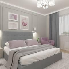 Квартира в Голосеевском районе: Спальни в . Автор – Торохтий Елена, Эклектичный