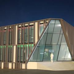 Gedung perkantoran oleh INARQ Espacio, Modern Kayu Wood effect
