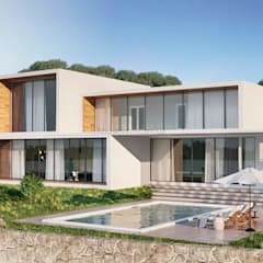 Fincas de estilo  por HouseForm Design Studio, Minimalista Concreto reforzado