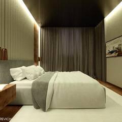 Small bedroom by Яна Сахаревич, Minimalist Engineered Wood Transparent