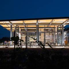 Oficinas y Tiendas de estilo  por studioundici, Industrial Hierro/Acero
