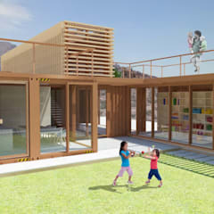 Garden by Hamaca Arquitectura SpA, Industrial