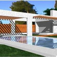 by UP arquitectos Minimalist آئرن / اسٹیل