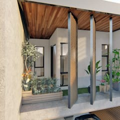 by Structura Architects Tropical Wood Wood effect