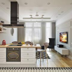 Kitchen units by EuroKvartira, Classic