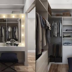 Дизайн квартиры : Коридор и прихожая в . Автор – EuroKvartira, Классический