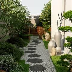 Zen garden توسطCoohom, آسیایی