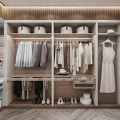 Eclectic style dressing room by Студия авторского дизайна ASHE Home Eclectic