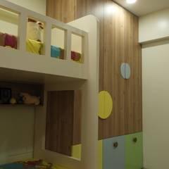 Ashwini Ghayal Designs が手掛けた赤ちゃん部屋, 和風