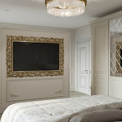 Small bedroom by Amadeus, Classic Wood Wood effect