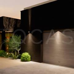 by QCASA.Madrid. Viviendas industrializadas eficientes de hormigón Modern کنکریٹ