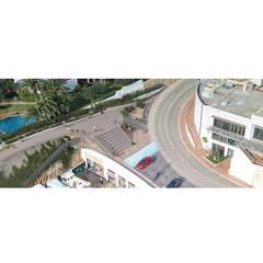 Proyecto varadero y nuevas oficinas en Ciutadella de Menorca: Edificios de oficinas de estilo  de M3 Tolo Marti S.C.P., Moderno