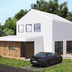전원생활의 꿈을 이뤄주는 내가 꿈꾸는 전원주택의 참 모습 by 공간제작소(주) 모던