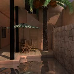 by Rendòn Toledo Arquitectos Tropical