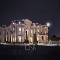 Magnificent Private Palace and Villa Design by IONS DESIGN 지중해 돌