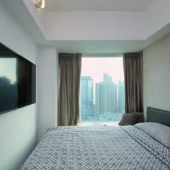 海桃灣 Modern style bedroom by Inspire Design Ltd Modern Wood Wood effect