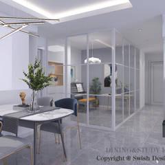 Hindhede Walk Modern dining room by Swish Design Works Modern