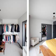 Apartamento EL.P Closets industriais por IN-PROOV Industrial