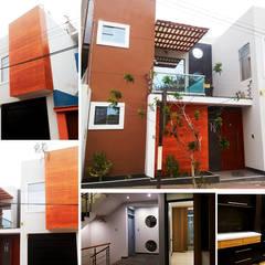 residencia de Diseño Integral y Construcción S.A.C. Moderno Concreto