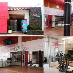 Diseño comercial y construcción de Diseño Integral y Construcción S.A.C. Moderno Concreto