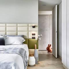 Paredes y pisos escandinavos de 耀昀創意設計有限公司/Alfonso Ideas Escandinavo