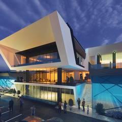 Diyarbakır Venüs Spor Kompleksi Modern Fitness Odası ArchSia Modern Beton