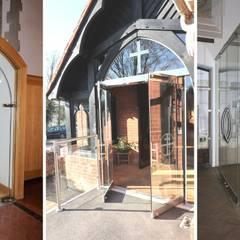 Glass in Porches od Ion Glass Minimalistyczny Szkło
