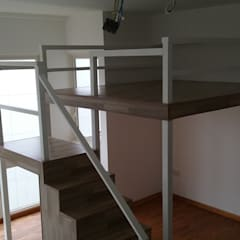 Create a Bed Loft (a.k.a. Furniture Deck or Mezzanine Floor) Modern study/office by BedLoft Modern