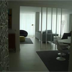 Apartamento em Lisboa - Projecto de Arquitectura e Interiores por AlexandraMadeira.Ac - Arquitectura e Interiores Moderno