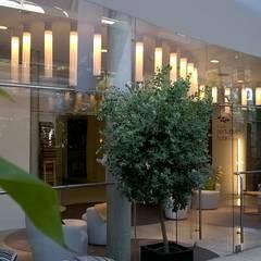 O MAIS PORTUGUÊS HOTEL DO MUNDO Varandas, marquises e terraços modernos por AlexandraMadeira.Ac - Arquitectura e Interiores Moderno