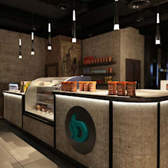 Industrial style gastronomy by AKYAN Industrial Stone