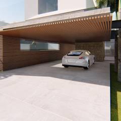CASA CIDADE JARDIM Garagens e edículas modernas por Lozí - Projeto e Obra Moderno