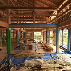 아시아스타일 벽지 & 바닥 by 水野設計室 한옥
